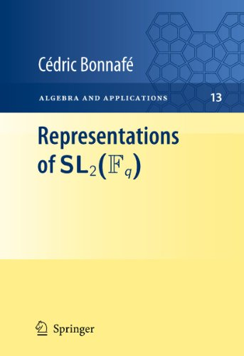 Representations of Sl2(fq): 13