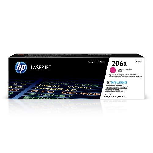 HP 206X | W2113X | Toner Cartridge | Magenta | High Yield
