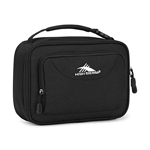 High Sierra Kids' Single Compartment Lunch Bag, Black, One Size