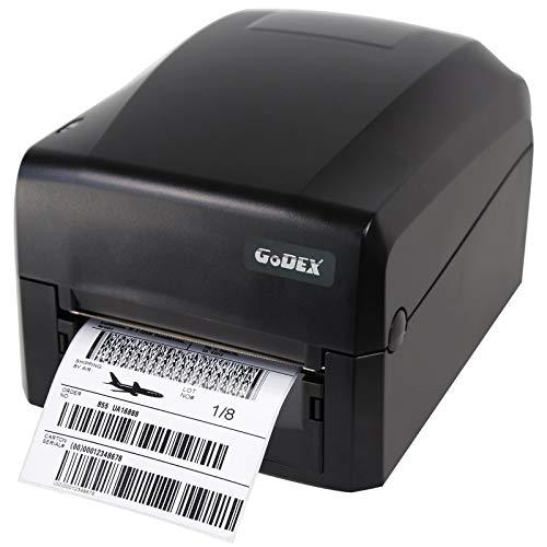 Thermodrucker Thermodirektdrucker Etikettendrucker Godex G300 203 DPI Modell mit Abreißkante mittig geführt LAN