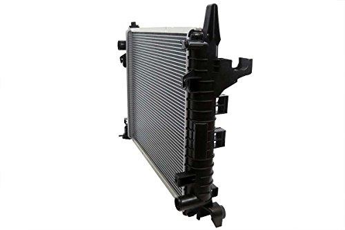 Prime Choice Auto Parts RK1126 New Complete Aluminum Radiator