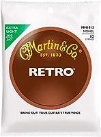 MARTIN MM1012 Retro Acoustic Monel Nickel Extra Light 12弦用アコースティックギター弦