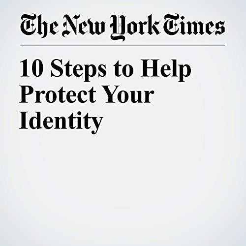 10 Steps to Help Protect Your Identity copertina