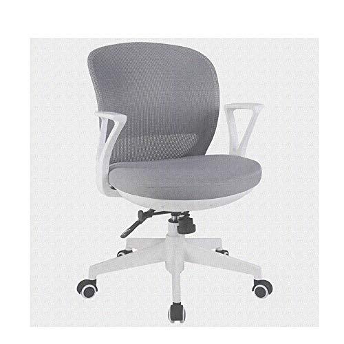 HOLPPO-Desk Silla de la computadora Silla del Acoplamiento Silla de Oficina del Ministerio del Interior rotativo de 360 ° Puede Levantar sillas de Escritorio Silla (Color : Gray)