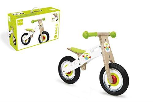Scratch Owl - Bicicleta de Equilibrio (pequeña, Multicolor)
