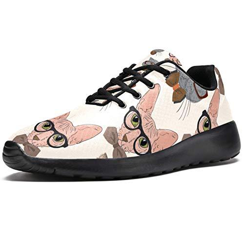 Zapatillas deportivas para correr para mujer, de belleza, vibrante, romántica, de tulipanes rojos, de malla, transpirables, para caminar, senderismo, tenis, color, talla 38 EU