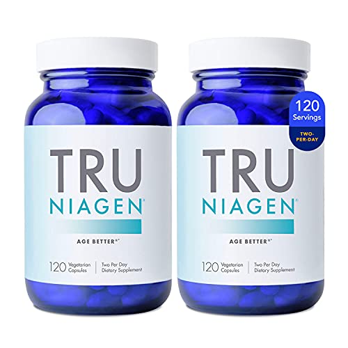 Patented NAD+ Supplement More Efficient Than NMN - Nicotinamide Riboside for Energy, Metabolism Booster, Vitality, Muscle Health, Healthy Aging, Cellular Repair - 120ct - 150mg (4 Months / 2 Bottles)