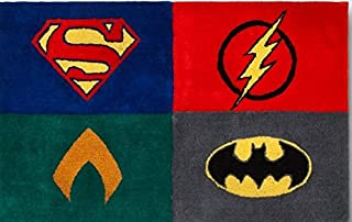 Justice League Accent Floor Rug 30 in X 48 in