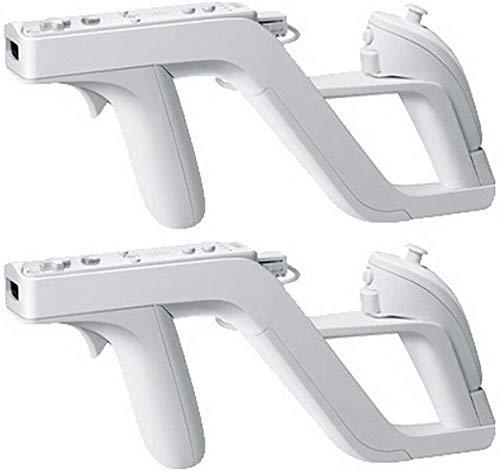 2 piezas pistola Zapper control remoto Nintendo Wii