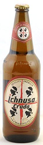 Birra Ichnusa Cruda in bottiglia 66cl CARTONE 15 Bottiglie