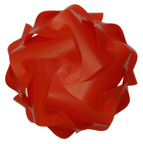 abat-jour -ROMANTICALE- rouge-design de retro