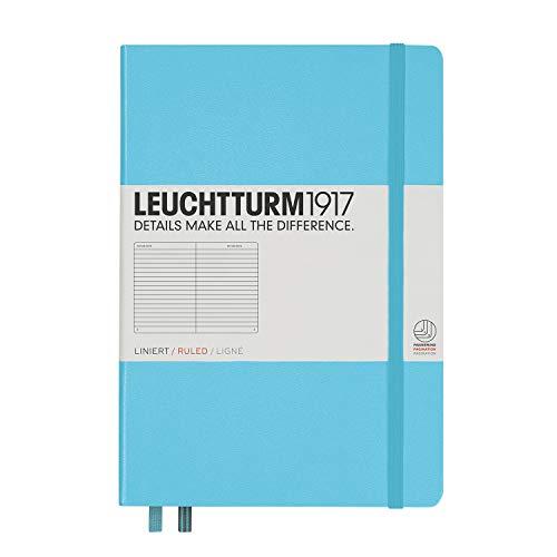 ロイヒトトゥルム ノート A5 横罫 アイスブルー 357480 正規輸入品