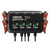NOCO GENIUS2X4, 8A (2A por banco) cargador de batería automático inteligente...