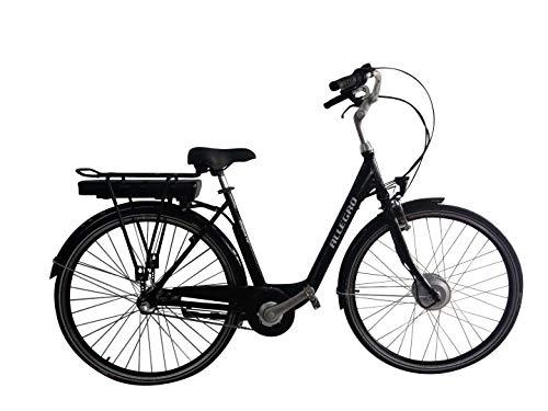 Allegro Elegant 02 E-Bike City Damen 45cm 28 Zoll City Elektrofahrrad, Pedelec E-Fahrrad, Schwarz