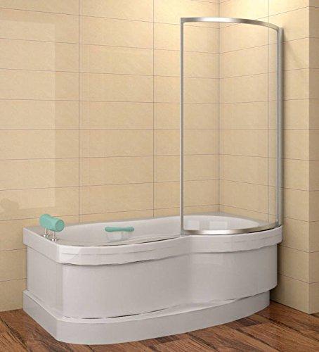 Mampara 110 x 135 cm (LXH) para cejlon, de perla de vidrio, marco Elox: Amazon.es: Bricolaje y herramientas