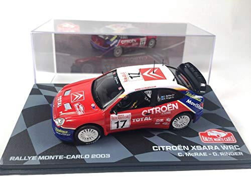 OPO 10 - Voiture 1/43 Citroen XSARA WRC Rallye Monte-Carlo 2003 McRae (BR17)