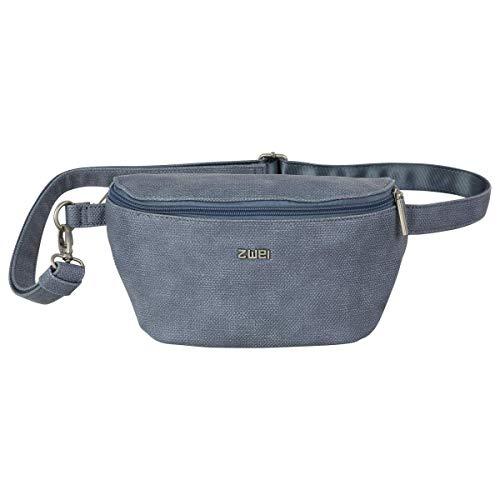 Zwei Handtasche Umhängetasche Mademoiselle MH4-z Kunstleder, Farben Taschen:Canvas-Sky