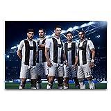 Italia ganó el campeonato, el campeón de la Liga de Fútbol, 02Modern Art Wall Wall Salón Dormitorio Gimnasio Decoración Poster 40 x 60cm