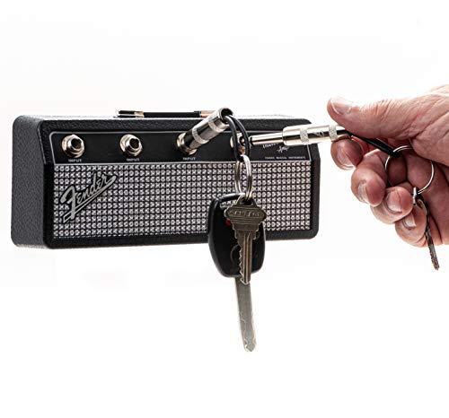 P Pluginz Fender Jack Rack | Schlüsselbrett mit 4 Schlüsselanhängern