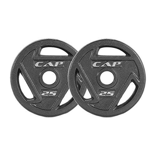 CAP Barbell 2-Inch Olympic Grip Plates