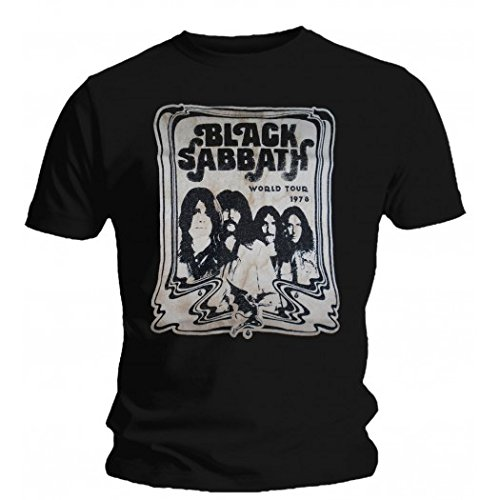 Black sabbath T-shirt Black Sabbath - World Tour 78