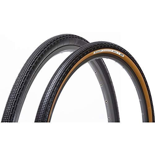 パナレーサー(Panaracer) チューブレスコンパーチブル タイヤ [27.5×1.75] グラベルキング SK F650B43-GKSK ブラック/茶 (ツーリング車 マウンテンバイク/グラベルツーリング ロングライド 用)