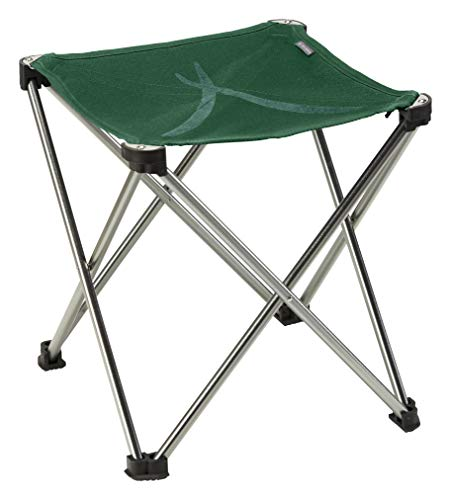 Grand Canyon SINYALA Mini - Klappbarer Campingstuhl, Hocker faltbar - bis 100 kg - Aluminium - Eden (grün)