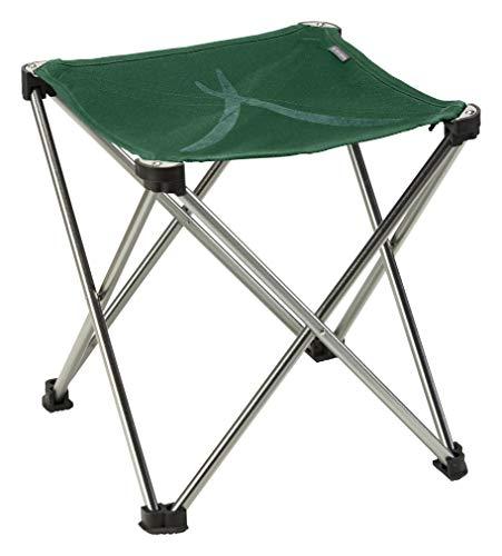 Grand Canyon SINYALA Mini - Sedia da Campeggio Pieghevole, Sgabello Pieghevole - Fino a 100 kg - Alluminio - Eden (Verde)