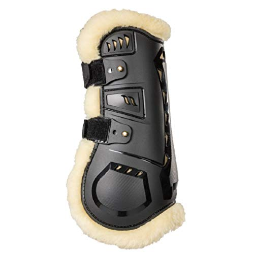 Back on Track Welltex® Tendon Boots Air Flow mit Fell schwarz (L)