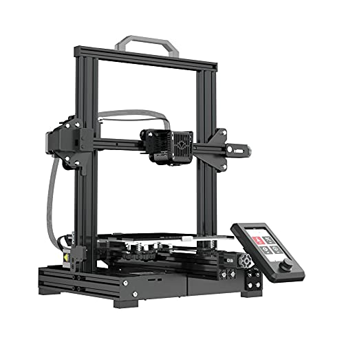 Voxelab Aquila X2 3D Printer with Full Alloy Frame, Removable Build Surface Plate, Fully Open Source, Resume Printing, Filaments Detection and Auto Filaments Feed/Return Function