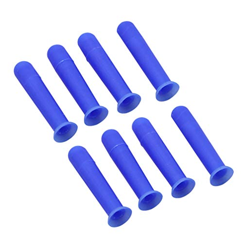 Supvox Kunststoff Kontaktlinsen Inserter Plunger Removal Tool für Erwachsene 8pcs blau