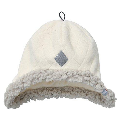 Lodger Scandinavian - Gorro de Forro Polar para bebés de 6 a 12 Meses, Color Blanco Roto