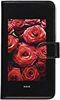 mitas Galaxy Note8 SC-01K ケース 手帳型 自然 花 植物 A・ROSE (360) SC-0264-A/SC-01K