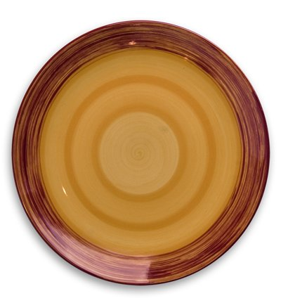 "Gail Pittman Simply Gail Yellow 11"" Dinner Plate -  Gail Pittman Designs"