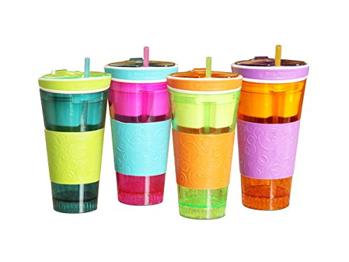 Snackeez- 2 in 1 Snack & Drink Cup
