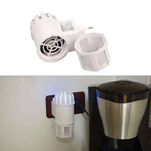 BASETECH UV-Insektenfänger mit Ventilator-Ansaugtechnik, Insektenschutz, Insektenvernichter, Mückenschutz