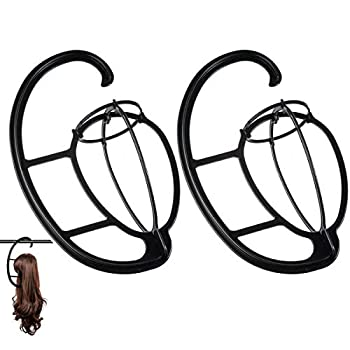 Dreamlover Hanging Wig Stand Wig Drying Stand 2 Pack