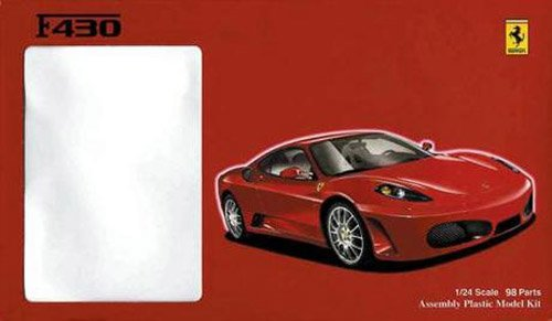 Fujimi 1/24 Ferrari F430 with option parts (japan import)