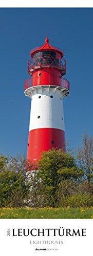 Leuchttürme 2016 - Lighthouses - Streifenkalender XXL (25 x 70) - Landschaftskalender