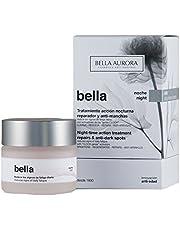 Bella Aurora Crema de Noche Anti-Arrugas Mujer 35+ Años, 50 ml   Anti-Edad   Anti-Manchas   Tratamiento Facial Hidratante para Mujer   Pieles Maduras   Bella
