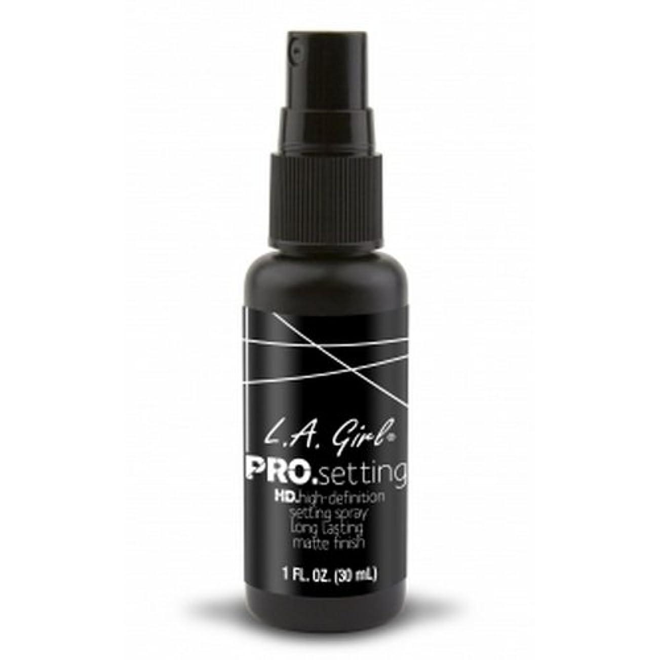 ペダル特性挑発する(6 Pack) L.A. GIRL Pro Setting Spray - Matte Finish (並行輸入品)