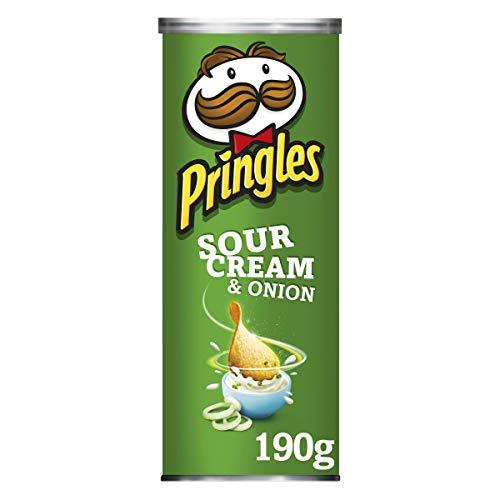 Pringles Sour Cream and Onion, 4unidades (4x 190g)