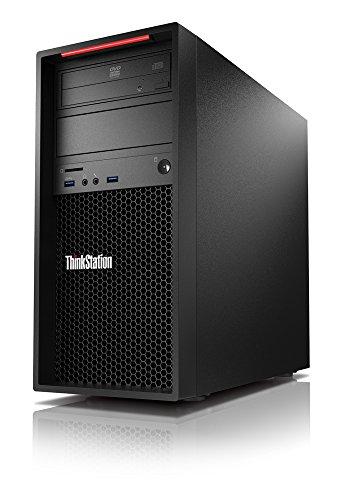 Lenovo ThinkStation P310 30AT0024GE Desktop, Processore Intel Xeon E3 v5 E3-1225V5 da 3.3 GHz, 8 GB DDR4-SDRAM, 1000 GB HDD, Intel HD Graphics P530, Windows 7 Professional, Nero