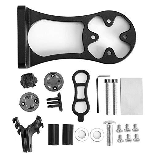 Soporte de extensión de Bicicleta Soporte de Bicicleta de Estilo Compacto y Ligero, para Kit de Soporte de teléfono con Linterna, Accesorio