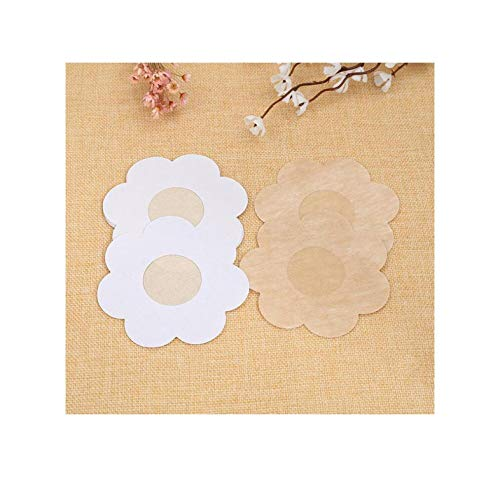 Best Bargain 1 Pair Bra Pad Reusable Self Adhesive Silicone Breast Petal Chest Stickers Nipple Cover...