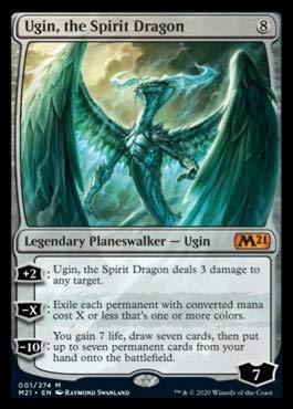 Magic: The Gathering - Ugin, The Spirit Dragon - Core Set 2021
