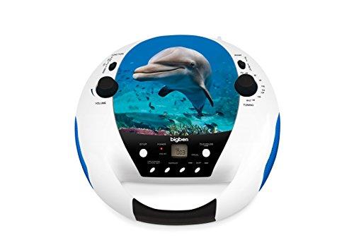 BigBen CD52DOLPHINMP3USB CD-Player mit Radio CD52 Delphin