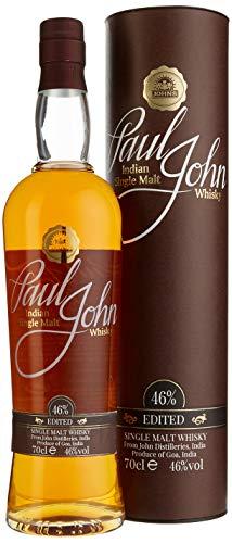 Paul John Edited Indian Single Malt Whisky mit Geschenkverpackung (1 x 0.7 l)