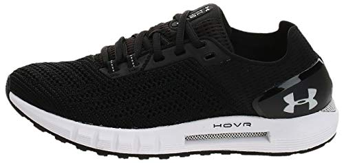 Under Armour Women's HOVR Sonic 2 Running Shoe, Black (003)/White, 8