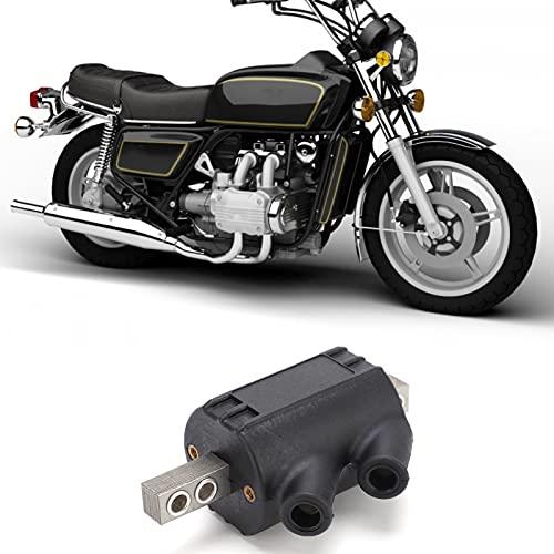 Derya Bobina de Encendido, Repuesto de Bobina de Encendido Excelente Rendimiento de Encendido Bobina de Encendido de 12 V fácil y rápida de Instalar para Motocicleta